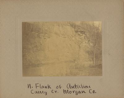 North Flank of Auticline Caney Creek, Morgan County