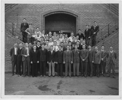 Engineers; This image is on page 147 of the 1940 Kentuckian; Photographer: Lafayette Studio
