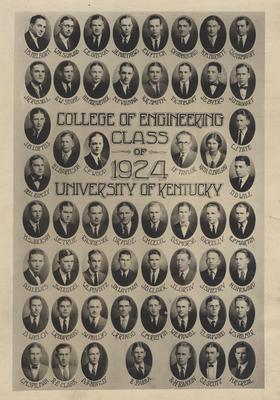 Class of 1924, College of Engineering