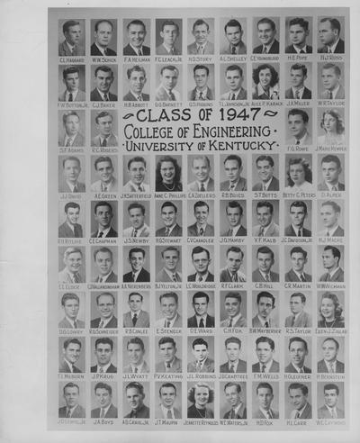 Class of 1947, College of Engineering