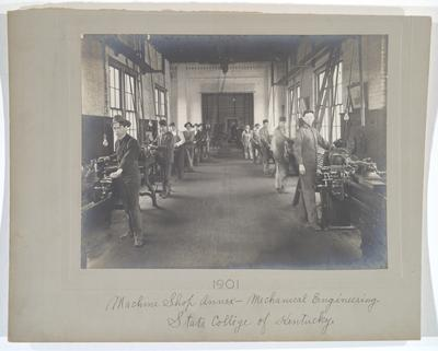 Machine Shop Annex, Mechanical Engineering, State College of Kentucky