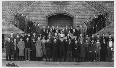 American Society of Civil Engineers, University of Kentucky branch; This image in on page 162 of the 1941 Kentuckian