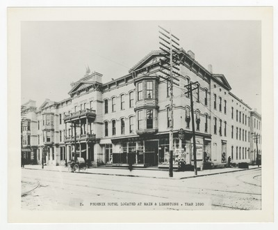 Phoenix Hotel located at Main and Limestone Streets
