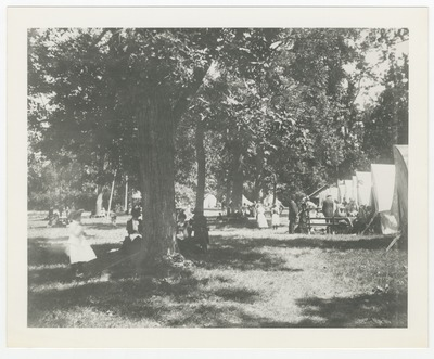 Tents in Woodland Park