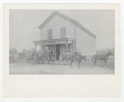 E.B Foley's store at South Elkhorn