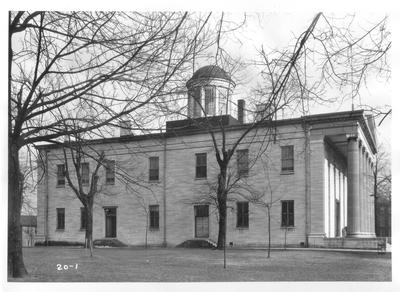 Old State House; designed or constructed in 1830 by Gideon Shyrock