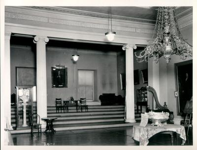 Old State House, Senate Chamber; designed or constructed in 1830 by Gideon Shyrock