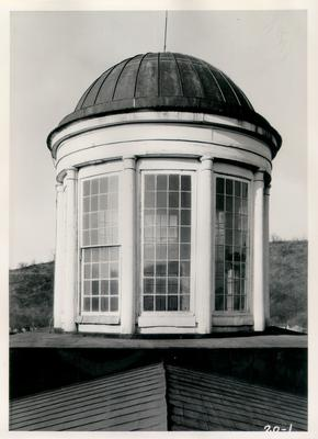 Old State House, detail of lantern on main roof; designed or constructed in 1830 by Gideon Shyrock