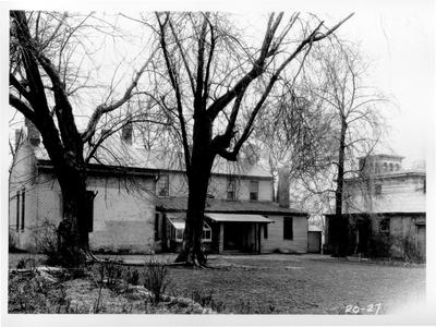 Old Governor Lazarus Powell Residence; designed or constructed in 1818