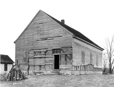 Old Mud Meeting House; designed or constructed in 1800