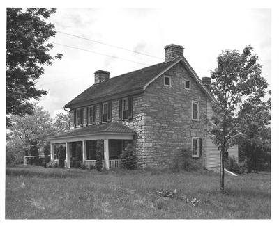 McAfee House; designed or constructed in 1790