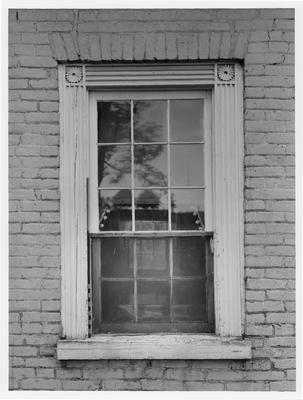 Captain Samuel Taylor House, window detail; designed or constructed in 1790