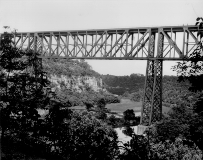 High Bridge over the Kentucky River, near the mouth of the Dix River