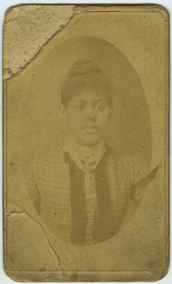 Unidentified African American female