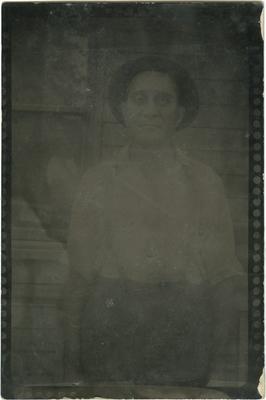 Unidentified African American male; written on back