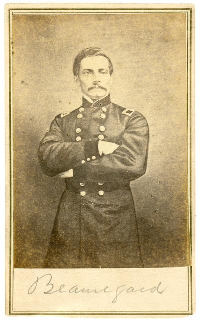 General Pierre Gustave Toutant Beauregard (1818-1893) C.S.A.; commander at Fort Sumter