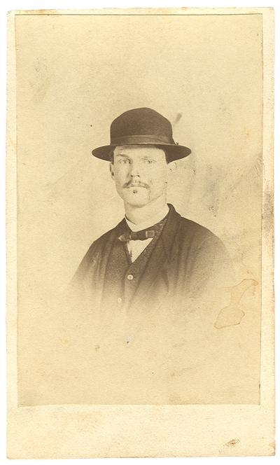 Captain James Thomas Rogers (1841-?), C.S.A., 3rd Kentucky Cavalry Regiment, Co. D