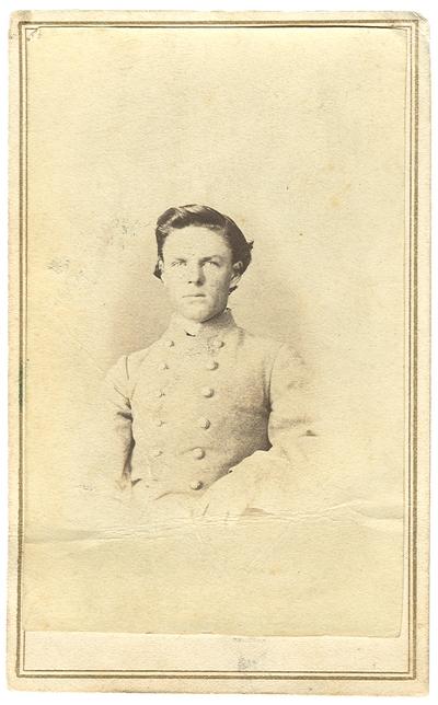Private Hugh Rogers (1848-1891), C.S.A., 13th Kentucky Cavalry Regiment, Co. D