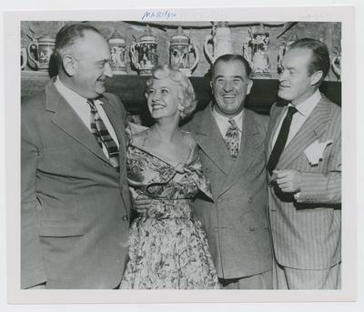 Adolph Rupp, Marilyn Maxwell, A.B.