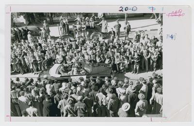 Adolph Rupp at parade