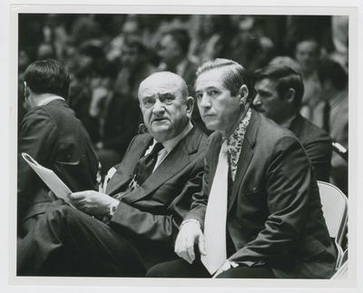Ed Hiddle [?] And Adolph Rupp