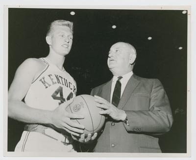 Cotton Nash and Adolph Rupp