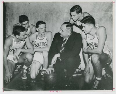 Adolph Rupp with