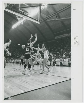 UK vs. Duke University; Thad Jaracz and Tommy Kron