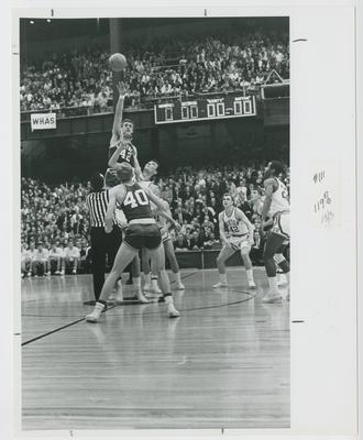 UK vs. Dayton; Pat Riley and Larry Conley