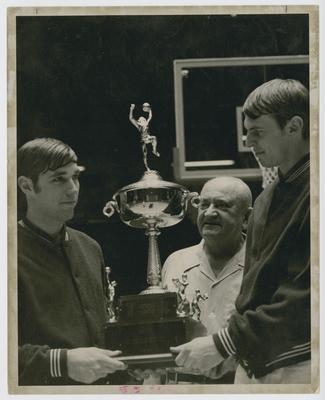 Mike Pratt, Adolph Rupp, and Dan Issel