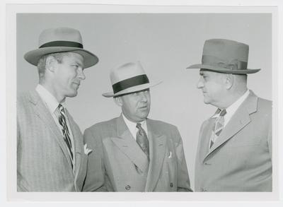 Bud Wilkinson, Hank Iba, and Adolph Rupp