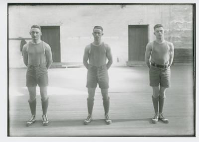 Charles Schrader, George Gumbert, and Robert Ireland