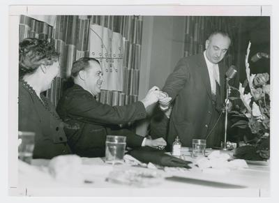 Blanton Collier and Adolph Rupp