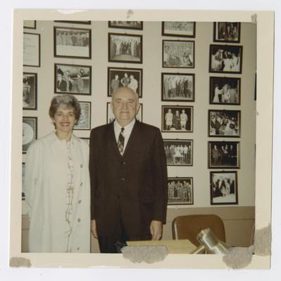 Lois Carrier and Adolph Rupp