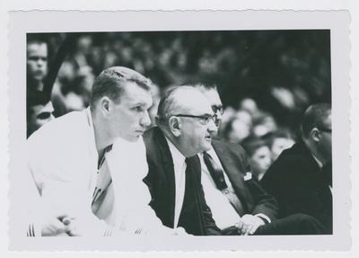 Allen Feldhaus and Adolph Rupp