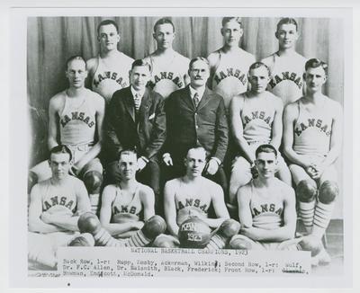 Kansas University Basketball Team