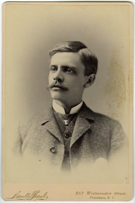 Mortimer H Champlin,                              For / Mr & Mrs. A. J. Crossman / Compliments of / Mortimer H. Champlin / March 25, 1882