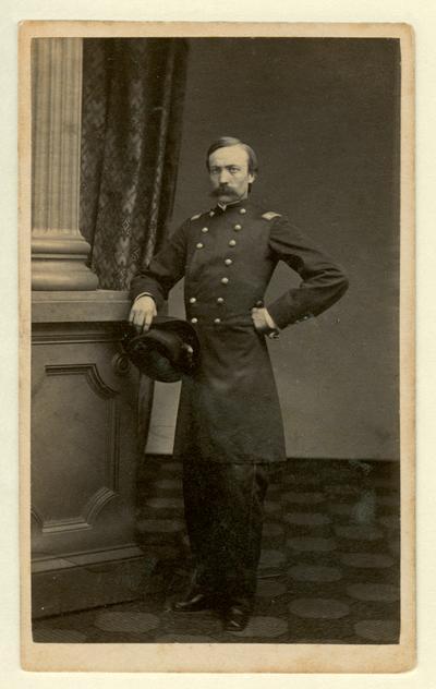 Lieutenant Colonel Philemon B. Hunt (?-?), U.S.A.; 4th Kentucky Mounted Infantry (W. R. Phipps, Lexington, KY)