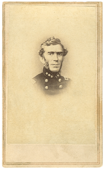 General Braxton Bragg (1817-1876), C.S.A.; lead the Army of Tennessee to victory at the Battle of Chickamauga