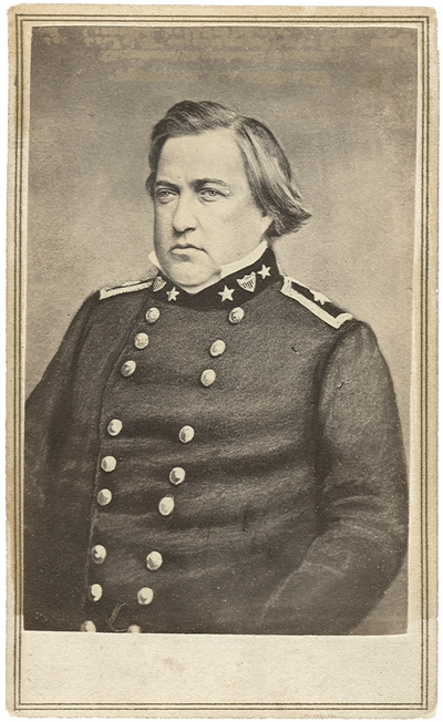 Brigadier General Humphrey Marshall, (1812-1872) C.S.A.; U.S. Congressman (1849-1852, 1855-1859); diplomat to China (1852-1854) and elected to the Confederate Congress