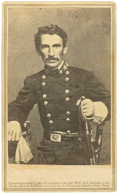 Brigadier General Meriwether Jeff Thompson (1826-1876) C.S.A.; Commander of the First Military District in Missouri