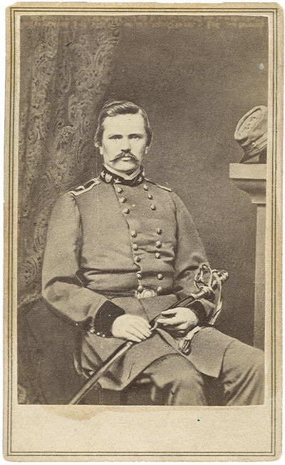 Major General Simon Bolivar Buckner (1823-1914) C.S.A.; organized Kentucky State Militia, one of the most successful Confederate Generals