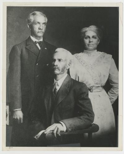 John William Johnson 1862-1955, Graves Johnson 1860-1950, Mary Johnson (Williams) circa 1858-1943