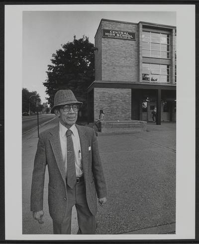 Lyman T. Johnson at Central High School