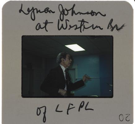 Lyman T. Johnson (18 slides)