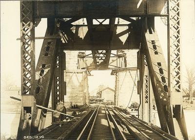 Railroad tracks of High Bridge