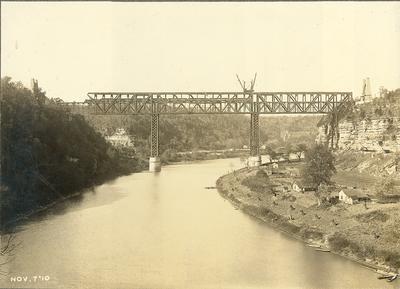 Train on High Bridge