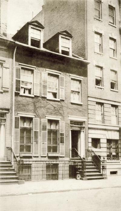 John Jacob Niles' Apartment; 121 Washington Place, New York City, New York