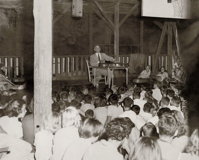 Performances by John Jacob Niles at Pine Mountain Settlement School; Pine Mountain, KY