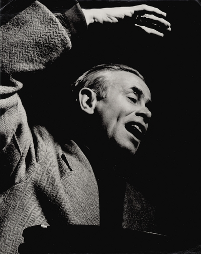 Performance by John Jacob Niles; Paul Berg